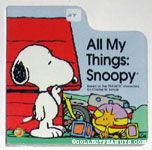 All My Things: Snoopy