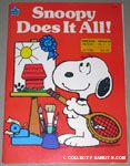 Snoopy does it all