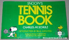 Snoopy Tennis Book
