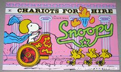 Snoopy Chariots of Fire