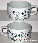 Snoopy Poses Bowl