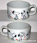 Snoopy Poses Bowl
