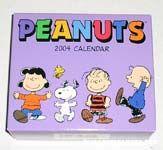 Peanuts & Snoopy Desk Calendars