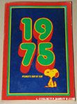 Snoopy Sitting '1975' Peanuts Day by Day Calendar
