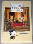 Snoopy & Woodstock reading constitution 1988 Metlife Datebook