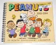 Peanuts 2003-2004 18-Month