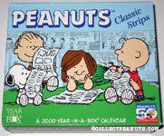 Peanuts 2000 Year-in-a-Box Calendar