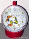 Peanuts & Snoopy Determined Productions Clocks