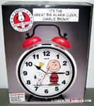 'It's the Big Alarm Clock, Charlie Brown' with Snoopy & Woodstock
