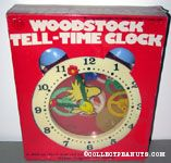 Woodstock Tell-Time Clock