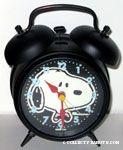 Snoopy portrait wearing bowtie Alarm Clock