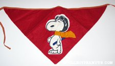 Snoopy Flying Ace Bandanna Head Scarf