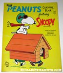 Peanuts Coloring Book Featuring Snoopy - Flying Ace