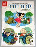 Tip Top Comics Charlie Brown playing drums