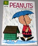 Peanuts Snoopy & Charlie Brown in the Rain