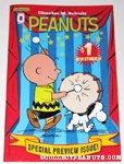 Peanuts #0 - Snoopy & Charlie Brown with drum
