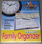 Peanuts Family Organizer