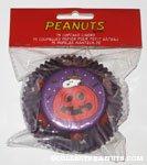 Snoopy in pumpkin Halloween Cupcake Liners