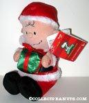 Musical Santa Charlie Brown Plush