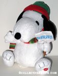 Animated Winter Snoopy Plush