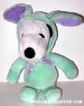 Snoopy Easter Beagle - Green - Plush