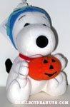 Flying Ace holding pumpkin Plush