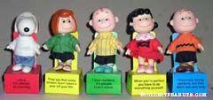 Peanuts Gang Philosophy Dolls