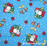 Santa Snoopy ringing Bells