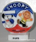 Snoopy and Charlie Brown King Cake Trinket