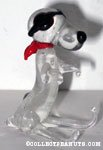 Flying Ace Glass Figurine