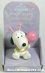 Snoopy with balloon 'Niece' Figurine