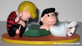 Lucy and Schroeder at Piano