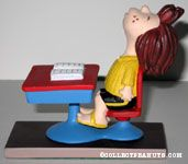 Peppermint Patty sleeping at Desk