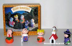 Peanuts Halloween Miniatures