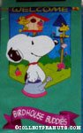 Snoopy & Woodstock 'Birdhouse Buddies' Flag