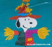 Snoopy Scarecrow