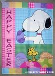 Peanuts & Snoopy Easter Flags