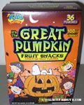 Great Pumpkin Fruit Snacks