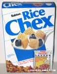 Rice Chex Box with Free Seasoning Packet