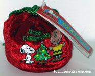 Snoopy & Charlie Brown with Christmas tree Bag of Candy