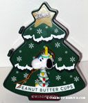 Snoopy tangled in Christmas lights Ornament