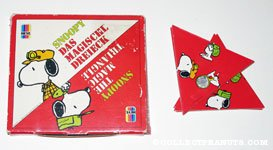 Snoopy The Magic Triangle Game