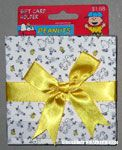 Peanuts & Snoopy Gift Card Holders