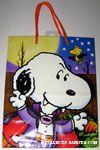 Dracula Snoopy and Bat Woodstock Halloween Gift Bag