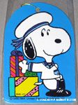 Sailor Snoopy with gifts Gift Tag