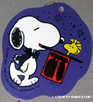 Snoopy magician with Woodstock in his hat Gift Tag