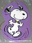 Snoopy dancing Gift Tag