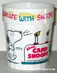 Celebrate with Snoopy Plastic Cup