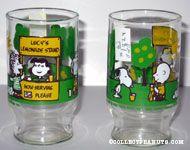 Lucy's Lemonade Stand juice glass