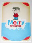 Retro Charlie Brown Christmas Card